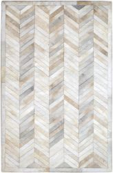 Off White Hide Handmade Rug | Dallas Rugs