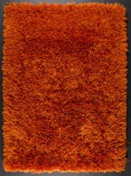 Rust Color Cotton Rug | Dallas Rugs