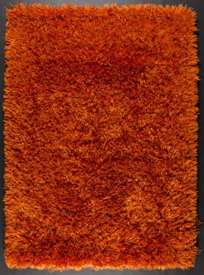 Rust Color Cotton Rug   Dallas Rugs