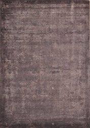 Dark Purple Silk Rug | Dallas Rugs