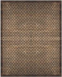Grey/Beige Wool Handmade Rug