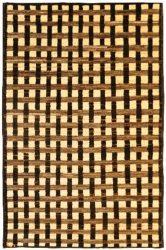 Brown Wool Handmade Rug | Dallas Rugs