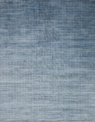 Blue Viscose Wool Rug | Dallas Rugs
